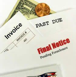 Oude onbetaalde facturen