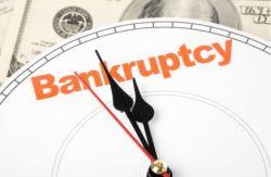 Voortekenen faillissement