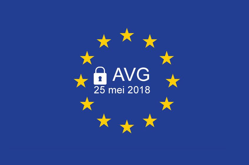 Nieuwe Europese privacywetgeving AVG is 25 mei 2018 ingegaan